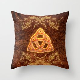 The celtic sign  Throw Pillow