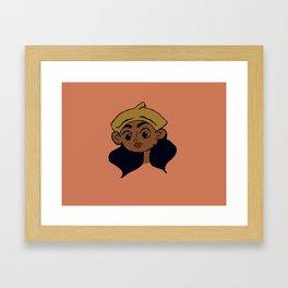 NUMBA #15 Framed Art Print