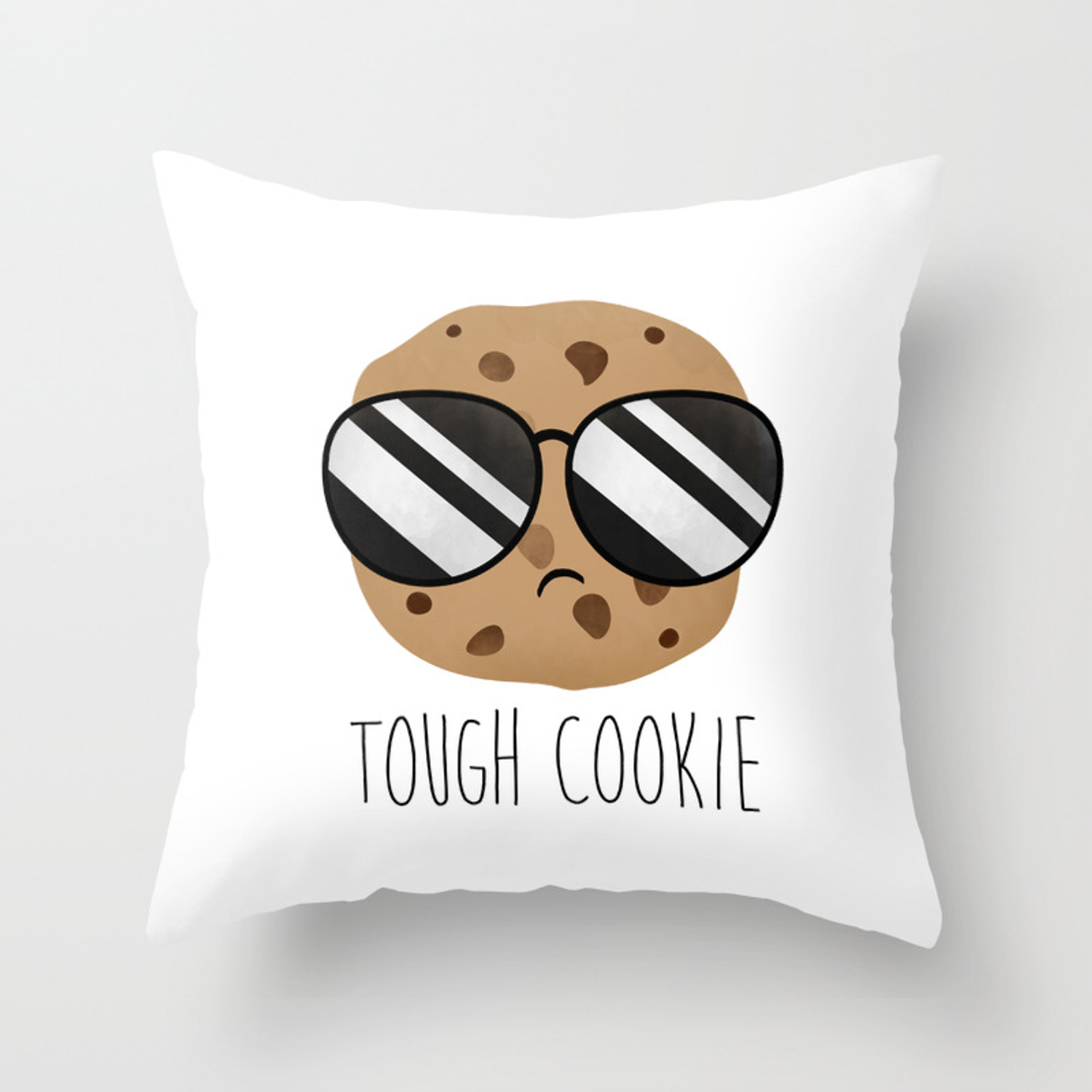 Tough Cookie Throw Pillow By Avenger Society6