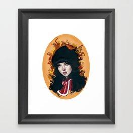 """""""Francine"""" Framed Art Print"""