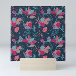 Colorful flowers Mini Art Print