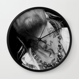 "Backyard Babies Nicke "" Gettin Social"" Wall Clock"