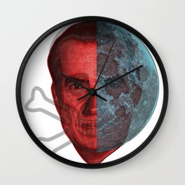 Shadow Nixon! Wall Clock