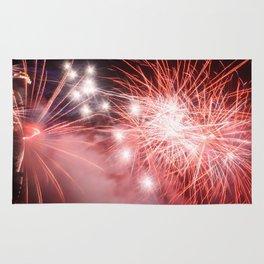 D-Day Fireworks Rug