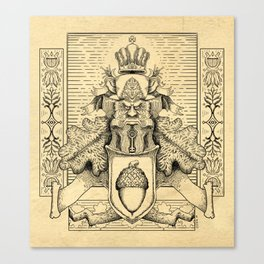 Knighthood of the Oak Canvas Print