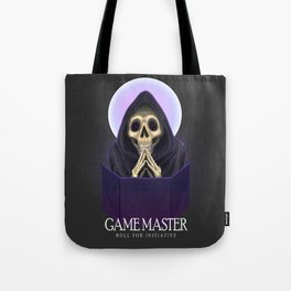 Game Master: roll for initiative Tote Bag