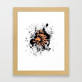 knvb royal lion Framed Art Print