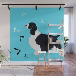 English Springer Spaniel Dog Wall Mural