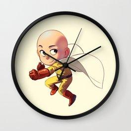 Chibi Saitama cutes1 Wall Clock