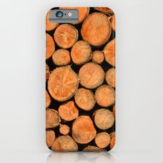 stack of wood Slim Case iPhone 6s
