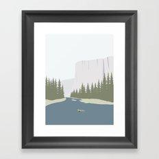 TØMMERFLÅDE Framed Art Print