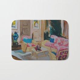 Golden Girls living room Bath Mat