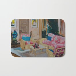 Golden Girls living room Bath Mat