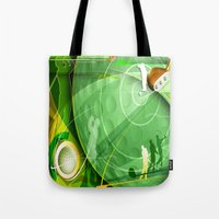 golf Tote Bags featuring Golf Anyone? by Robin Curtiss