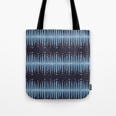 Bleeding Stripes #1 Tote Bag