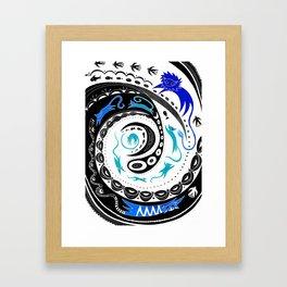 Catnip Redux Framed Art Print