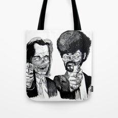 Zombie Fiction Tote Bag