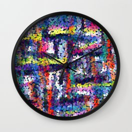 Abstract pattern 127 Wall Clock