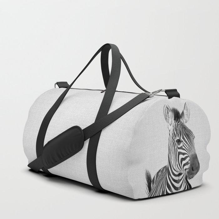Zebra 2 - Black & White Duffle Bag