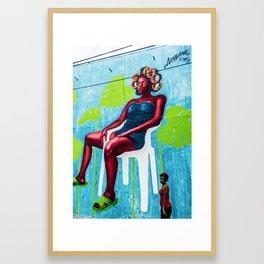 AFH 2018 Street Art 8 Framed Art Print