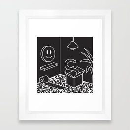 Objects In Room Framed Art Print