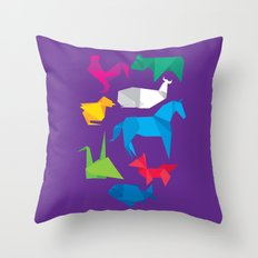 Origanimals Throw Pillow