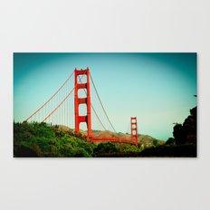 The Golden Gate Bridge at Day Canvas Print