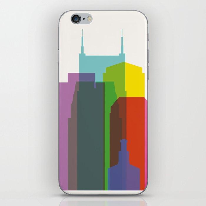 Shapes of Nashville iPhone Skin