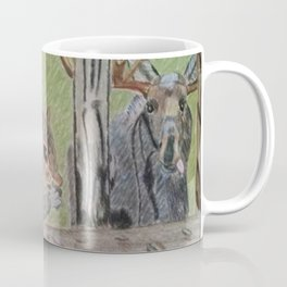 Squirrel and Moose Coffee Mug