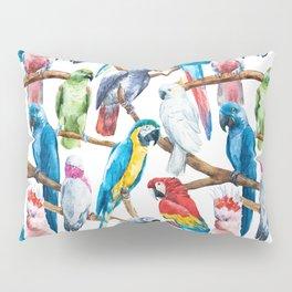 Parrot Pattern 02 Pillow Sham