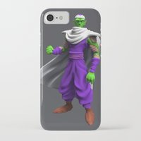 dbz iPhone & iPod Cases featuring DBZ Piccolo by ZariusArts