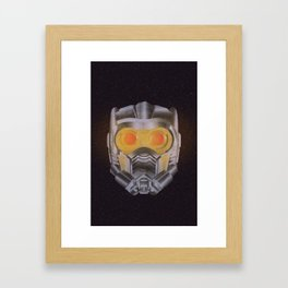 Star Lord Helmet Framed Art Print
