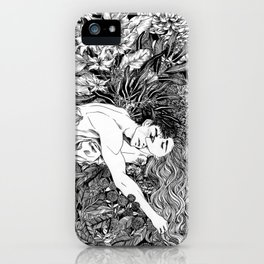 Rest your weary soul on me iPhone Case