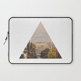 Hollywood Sign - Geometric Photography Laptop Sleeve
