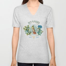 Magic Birds - Hummingbird Unisex V-Neck