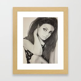 mila mila Framed Art Print
