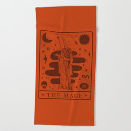 Mage Beach Towels Society6