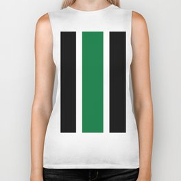 TEAM COLORS 10....GREEN,BLACK Biker Tank