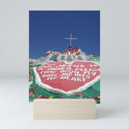 Salvation Mountain II Mini Art Print