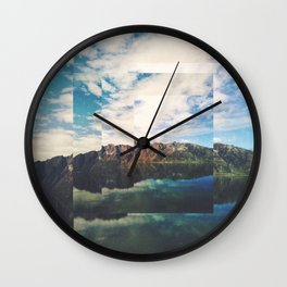 Fractions A55 Wall Clock