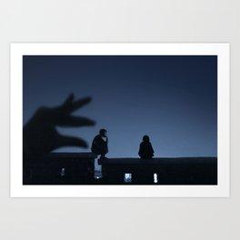 Our Last Night In Seoul Art Print