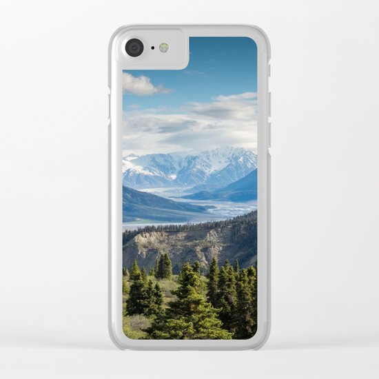 Mountain Landscape # sky Clear iPhone Case