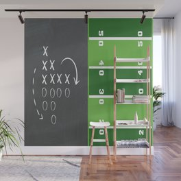 Football Game Day Play Wall Mural