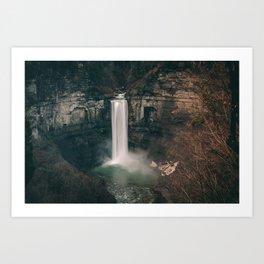 Taughannock Falls - Trumansburg, NY, USA Art Print
