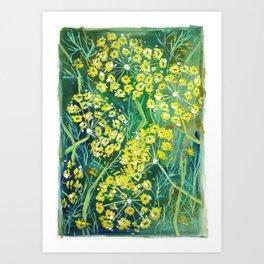 Wild Parsnip Art Print