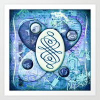 melissa smith Art Prints featuring Melissa (#TheAccessoriesSeries) by Wayne Edson Bryan