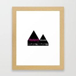 Reykjavik Boulevard #01 Framed Art Print