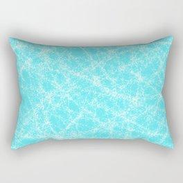 Robbin Egg Blue Pattern Rectangular Pillow