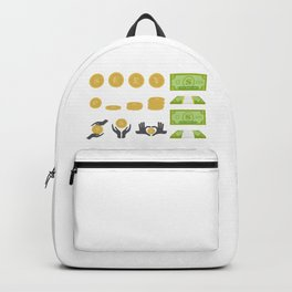 In Love With Wealth Backpack