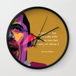 Impossible Odds Wall Clock